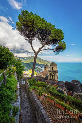 Amalfi Photograph - Villa Rufolo by Inge Johnsson
