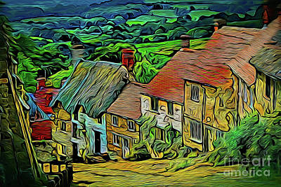 Photograph - Village 19518 by Ray Shrewsberry