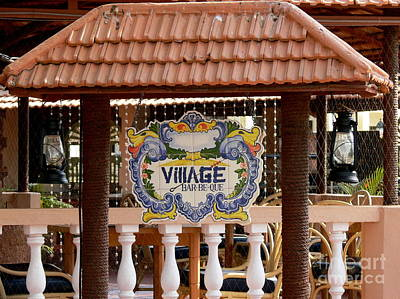 Que Photograph - Village Bar-be-que by Padamvir Singh