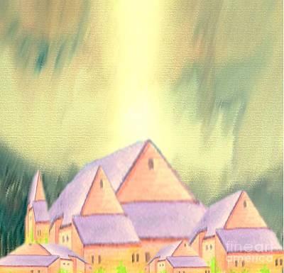 Painting - Village by Belinda Threeths