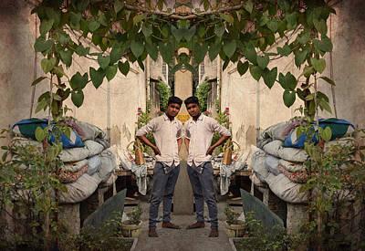 Indian Photograph - Village Boy  by Sumit Mehndiratta