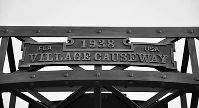 Photograph - Village Causeway Bridge by David Lee Thompson