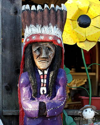 Photograph - Village Chief . 40d4624 by Wingsdomain Art and Photography