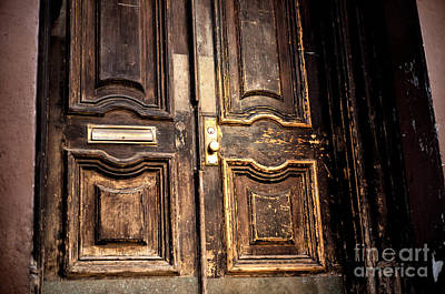 Photograph - Village Classic Door by John Rizzuto