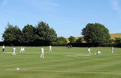 Photograph - Village Cricket by Richard Reeve