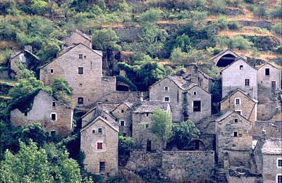 Photograph - Village Near Millau, France by Flavia Westerwelle