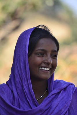 Photograph - Village Girl by Atul Daimari