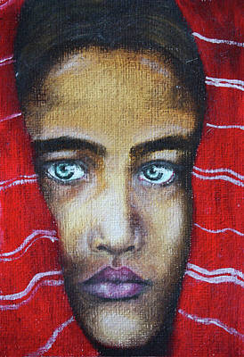 Village Girl Original by Natalie Gillham