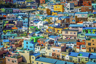 Photograph - Village In Colors by Hyuntae Kim