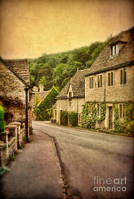 Photograph - Village In The Cotswolds by Jill Battaglia