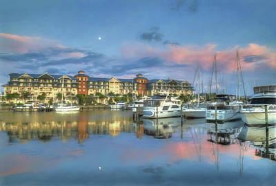 Photograph - Village Marina Sunset by Donna Kennedy
