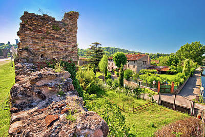 Photograph - Village Of Borghetto On Mincio River View by Brch Photography