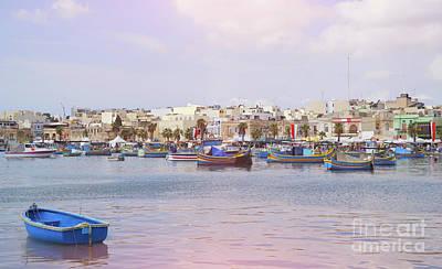 Marsaxlokk Photograph - Village Of Fishermen by Kira Yan