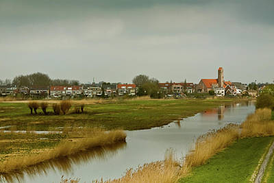 Photograph - Village Of Kinderjik Netherlands by Jill Smith