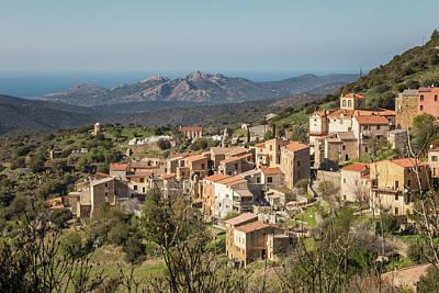 Just Desserts - Village of Novella in Balagne region of Corsica by Jon Ingall