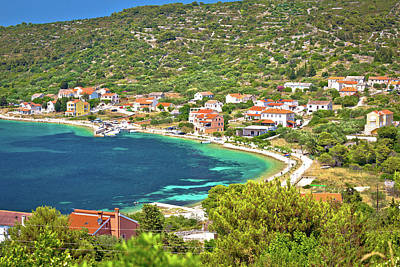 Photograph - Village Of Soline Bay On Dugi Otok Island by Brch Photography