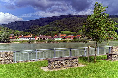 Photograph - Village Of Willendorf On The River Danube In The Wachau Region, Austria by Elenarts - Elena Duvernay photo