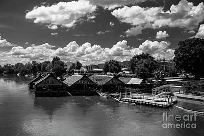 Photograph - Village On The River Kwai by Charuhas Images