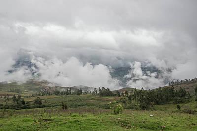 Digital Art - Village Scenes In Huancas by Carol Ailles