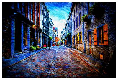 Photograph - Village Street by Bill Howard