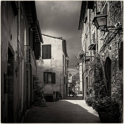 Photograph - Village Street In Scansano, Tuscany by Peter V Quenter