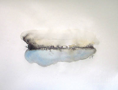 Abstract Landscapes Painting - Lake by Vesna Antic