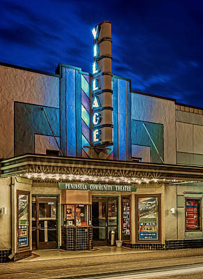 Photograph - Village Theater by Jerry Gammon