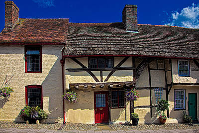 Photograph - Village Tudors by Chris Lord