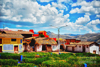 Photograph - Village Up High In Peruvian Mountains by Nika Lerman