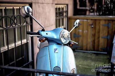 Photograph - Village Vespa by John Rizzuto