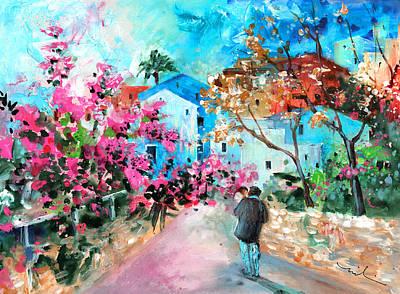 Painting - Villajoyosa 01 by Miki De Goodaboom
