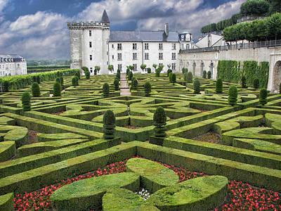 Photograph - Villandry - Gardens - Chateau by Nikolyn McDonald