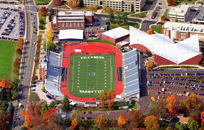 Villanova Stadium 800 East Lancaster Avenue Jake Nevin Fieldhouse Villanova Pa 19085  Original by Duncan Pearson