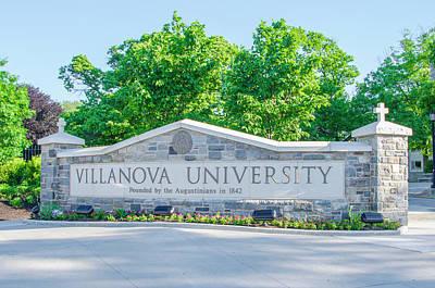 Radnor Photograph - Villanova University - Radnor Pa by Bill Cannon