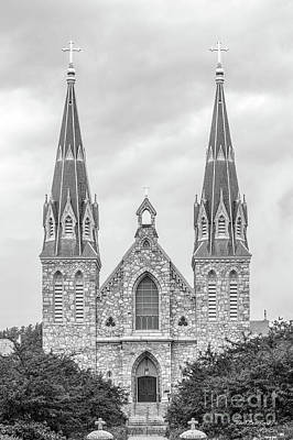 St Thomas Photograph - Villanova University St. Thomas Of Villanova Church by University Icons