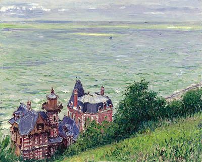 Painting - Villas In Trouville by Gustave Caillebotte