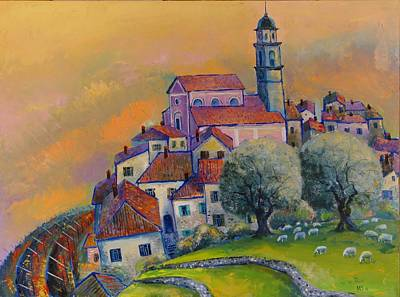 Painting - Ville Del Monte by Mikhail Zarovny