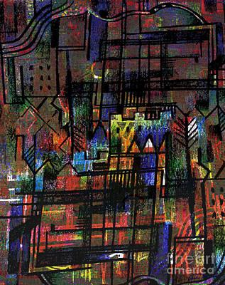 Ville Francaise Art Print by Andy  Mercer