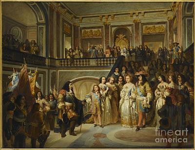 Victoire Painting - Ville Pour Se Rendre A Notre-dame by Celestial Images
