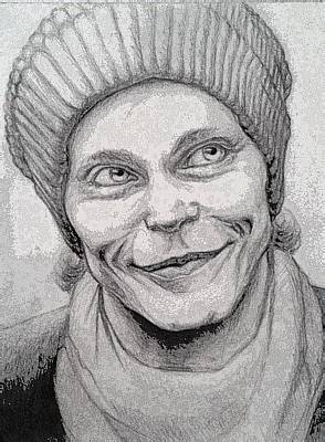 Ville Valo Drawing - Ville Valo by Angelina Ruseva