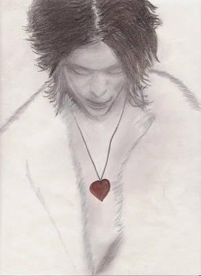 Ville Valo Drawing - Ville Valo by Brandi Smith