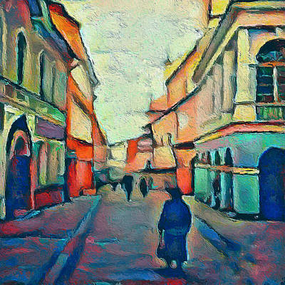 Digital Art - Vilnius Church Favorite 4 by Yury Malkov
