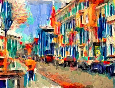 Digital Art - Vilnius Color Imressions by Yury Malkov