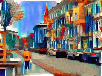 Digital Art - Vilnius Colors 1 by Yury Malkov