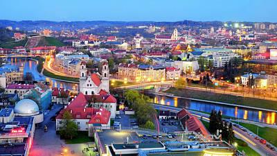 Photograph - Vilnius by Fabrizio Troiani
