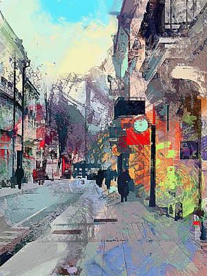 Digital Art - Vilnius Mess by Yury Malkov