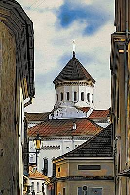 Vilnius Old City Art Print