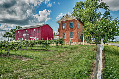 Photograph - Vimaca Winery Brussels Il 7r2_dsc9800_07012017 by Greg Kluempers
