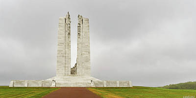 Photograph - Vimy Memorial - Rear by Weston Westmoreland