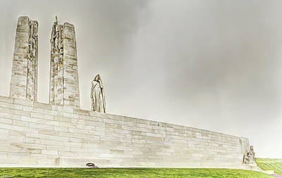Photograph - Vimy Memorial by Weston Westmoreland